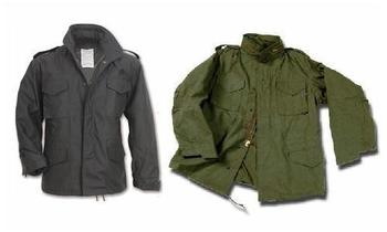 US M65 Style Combat Jackets with Removable Lining