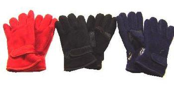 New Kids Size  fleece Thinsulate lined gloves in assorted colours
