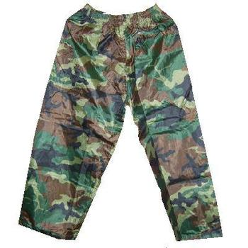New Kids Showerproof Camo PVC overtrousers