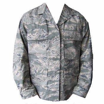 ABU Ladies Airforce Utility Air Force Tiger Stripe shirt combat shirt