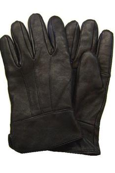 Leather Gloves, Black Soft Leather Hamiltion Glove, New