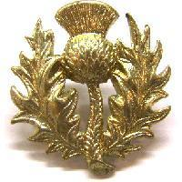 14th Battalion The london Regiment white metal Collar badge