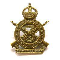 3rd County of London Yeomanry Cap badge - sharpshooters