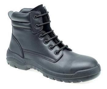 Leather Non Metal Composite Safety Boots Ideal for Airports (M133a)