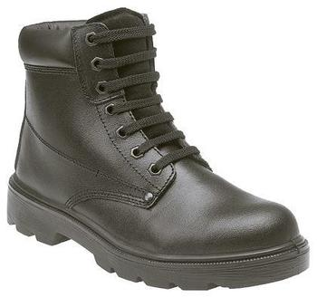 Excellent Value Leather Padded Safety Boots Size 3 to 15 In Stock (M569A)