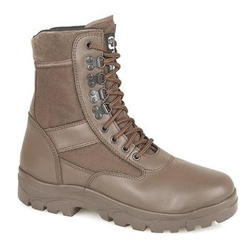 Brown Combat Boots Grafters G Force Thinsulate Warm Lined Boot  - M668B