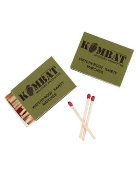 Waterproof Storm Matches - 2 boxes of windproof weatherproof matches
