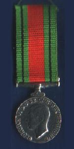 Miniature Defence Medal
