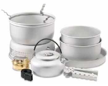 Cooking Set With Meths Burner From Surplus And Outdoors