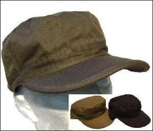 Military Style Cotton Drill Combat cap