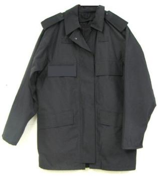 Black MVP Jacket Used Genuine MOD Dog Guard Service Waterproof and Breathable Coat