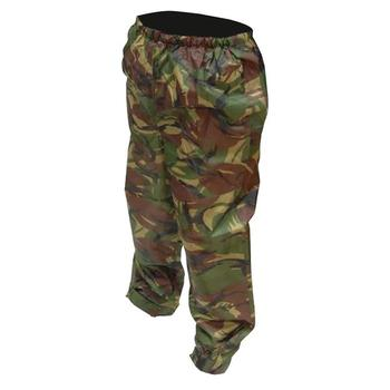 DPM Waterproof Camo Monsoon Adults Over Trousers Made by Highlander