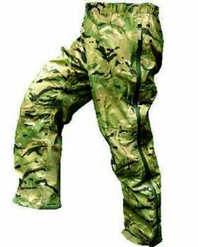 MTP MVP Paclite Over Trousers Multicam Lightweight Trousers, Used