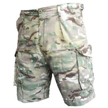 MTP Shorts, Used Re Issue Grade MTP MultiCam British Army Tailored Shorts