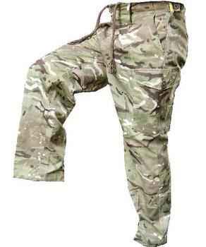 MTP MultiCam Tropical Lightweight Combat Trousers Genuine British Army Issue, Used Graded