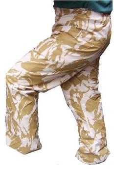 Desert MVP Wet Weather Trousers, New Genuine British Army Issue Desert Goretex Trousers