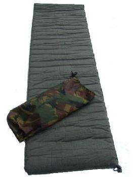 Thermarest Dutch Iso Mat Military Nato issue Olive green self inflating bedroll / Therma-Rest