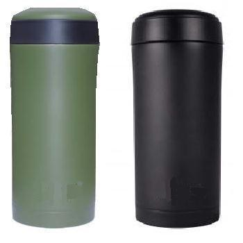 Ammo Flask Stainless steel Thermal Mug / Ammo pouch Screw top flask in olive or black
