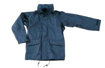 Navy Blue Waterproof and Breathable Ripstop Tempest / helford Jacket, New
