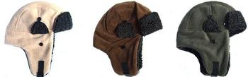 New Warm and soft Fleece Bomber Trapper Style Hat