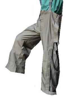 As new Genuine Issue Olive Green New Generation Gortex Bib brace trousers