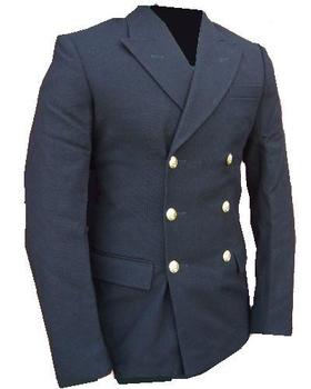 Brand New Men's 6 Button Dark Blue Royal Naval Jacket..Great for Fancy Dress
