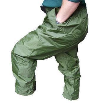 Foul Weather waterproof Over trousers, New Un Issued Genuine Army Issue