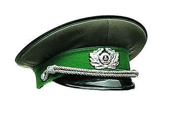 02f871292b8 New NVA East German Officers Peaked Visor Hat