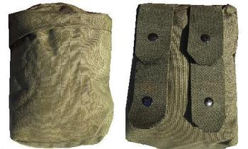 Austrian Military Issue Olive green Molle /Modular ammo pouch