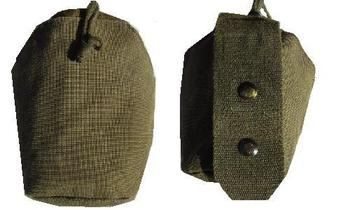 Austrian Military Issue Used olive green Molle  / Modular water bottle pouch