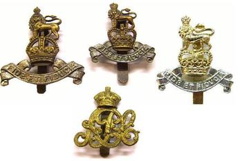 Army Pay Corps Cap and beret badges