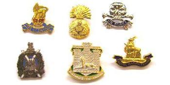 Assorted selection of pin badges