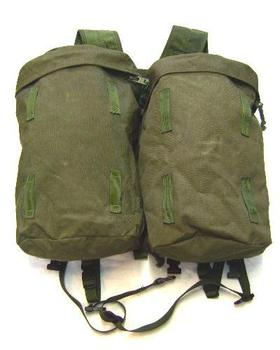 PLCE 90 Pattern Olive Daypack Rocket Pouches and Yoke Genuine British Issue complete set