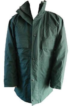 Police Unlined Bottle green Gortex Anorak