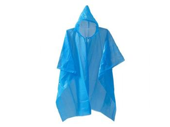 Emergency Poncho Adults Disposable Hooded Emergency Poncho