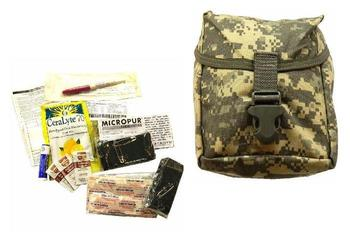 USA Marpat ACU Individual First Aid Kit Pouch And Minor First Aid Module, New
