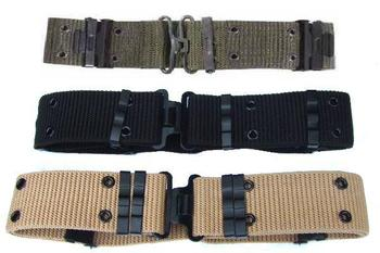 US Army Style Strong Nylon 57mm wide Pistol Pistol Belts in different colours