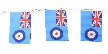 Fantastic RAF bunting 20 flags 6m length