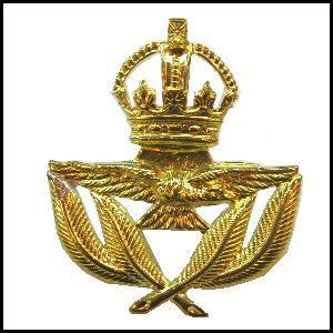 RAF Service Cap Badge