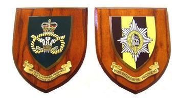 New Hand Painted Regimental Wall Plaques great for home or office Display
