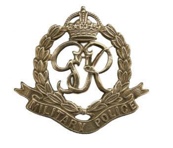 Military Police Cap Badges