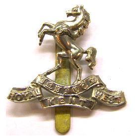4d727b8f8d1 Royal West Kent Regimental Cap badge