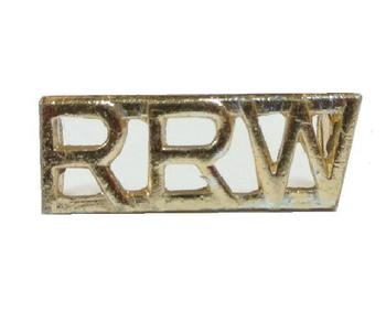 RRW Royal regiment of wales  staybright