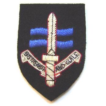 SBS special Boat Service Silver Wire Beret Badge
