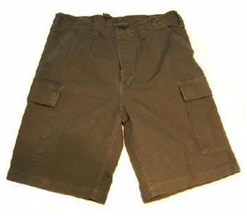 New Pre Washed German Moleskin Combat Shorts
