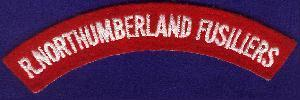 Shoulder Title of the Royal Northumberland Fusiliers