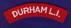 Durham Light Infantry Shoulder Title