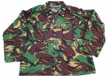DPM Tropical Shirt Genuine Issue Tropical Shirts Brand New older style
