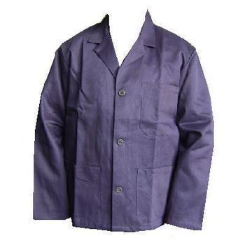 Long / tall Cotton Drill Slop Jacket New Button Front Navy Blue 100% Cotton Railway Engineers Slop Jacket