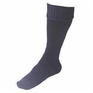 Navy Blue Sea Boot Wellington Socks